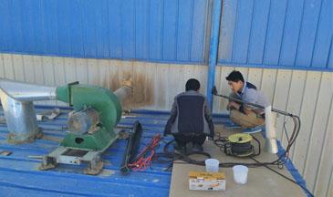 俊梅木业有组织废气检测