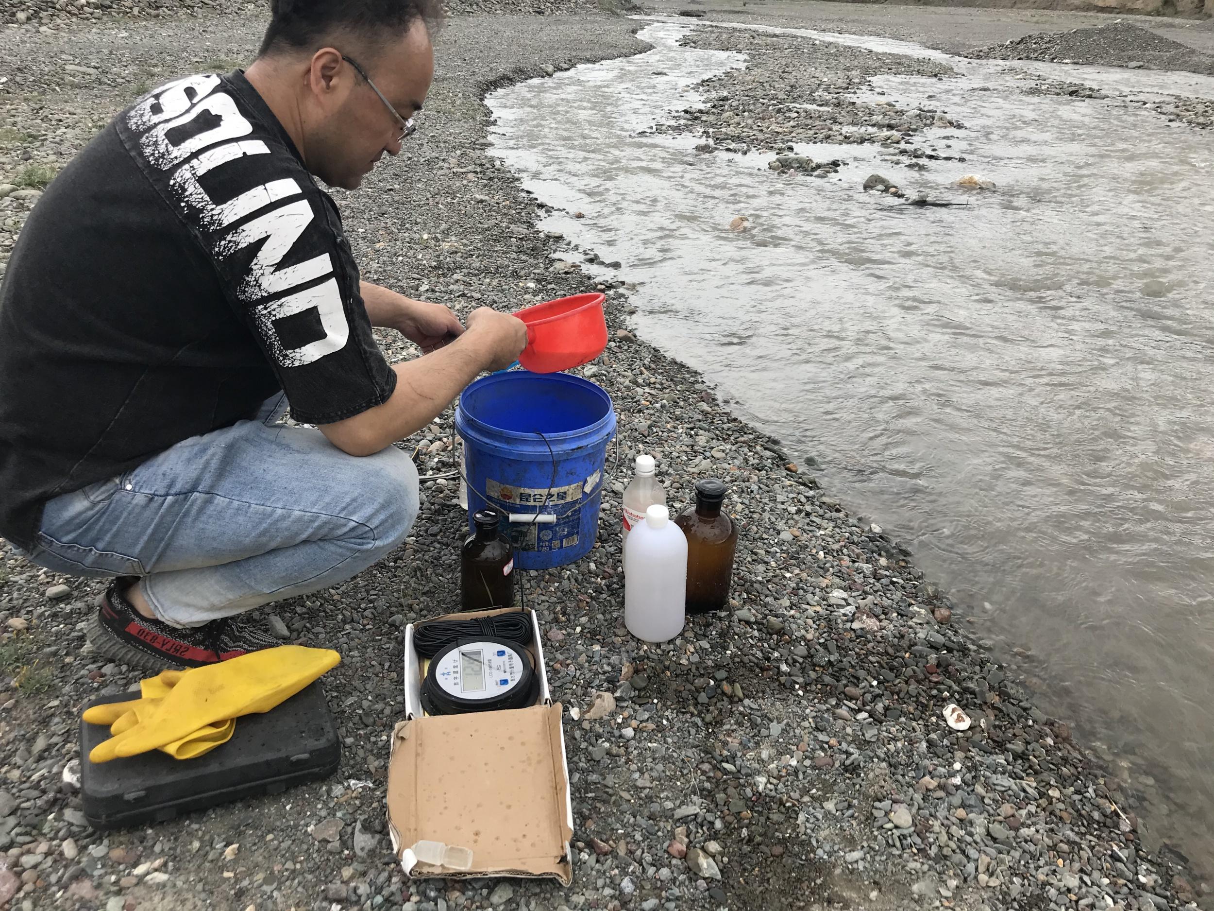 地表水检测采样