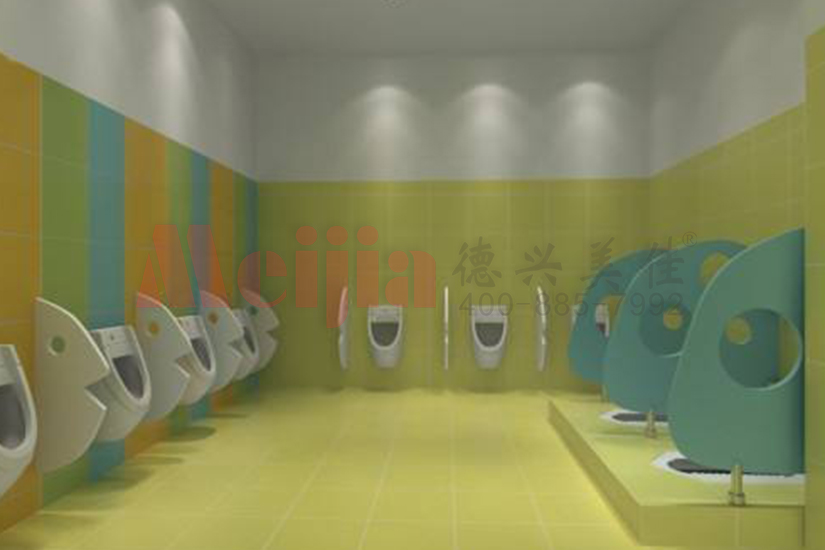 儿童厕所抗倍特小便斗挡板