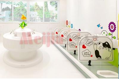 幼儿园蹲便器隔断隔板