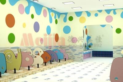 幼儿园抗倍特卫生间隔断