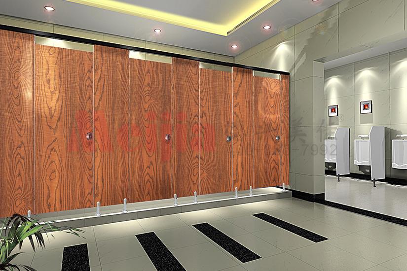西安公共卫生间镀锌钢板铝蜂窝卫生隔断厂家直销