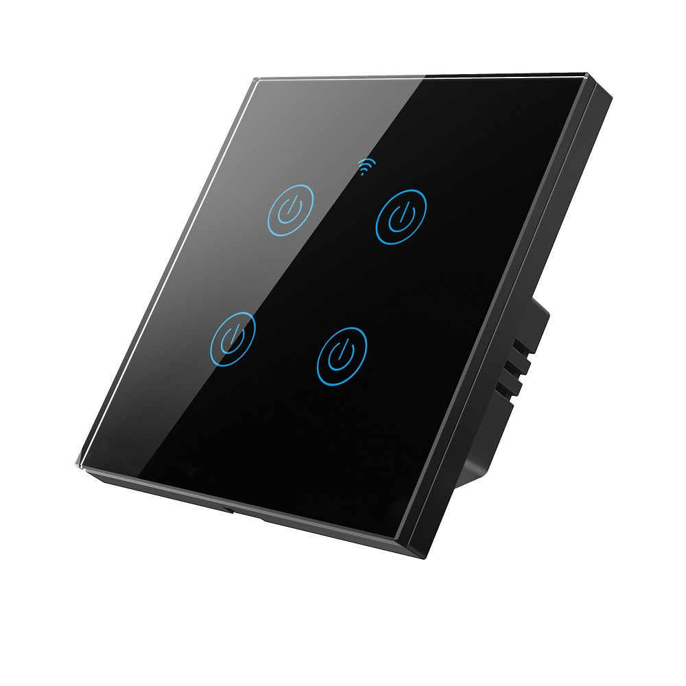 MD-101 4Gang EU Standard Wifi Touch Switch