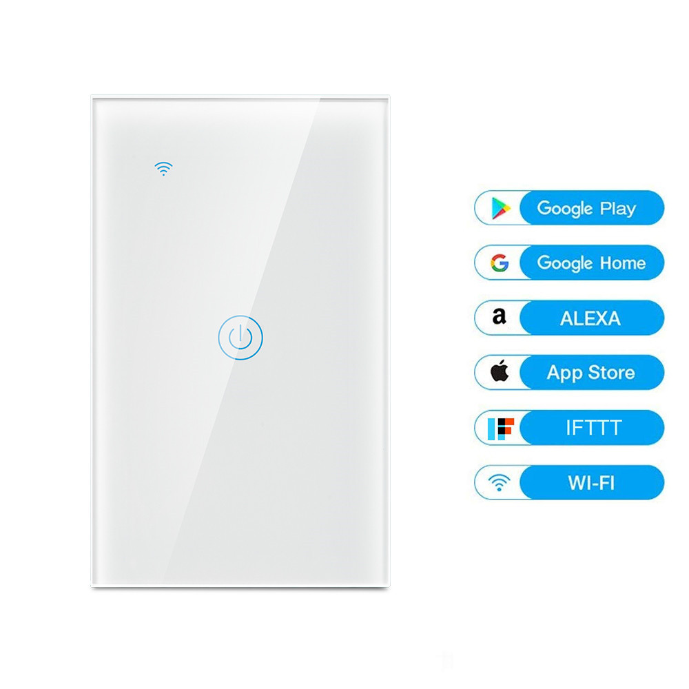 MD-121 1gang US Standard WIFI Touch Switch