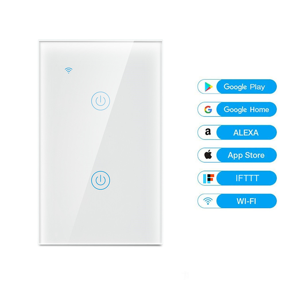 MD-121 2gang US Standard WIFI Touch Switch
