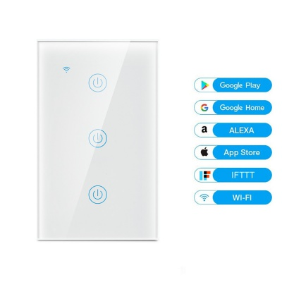 MD-121 3gang US Standard WIFI Touch Switch
