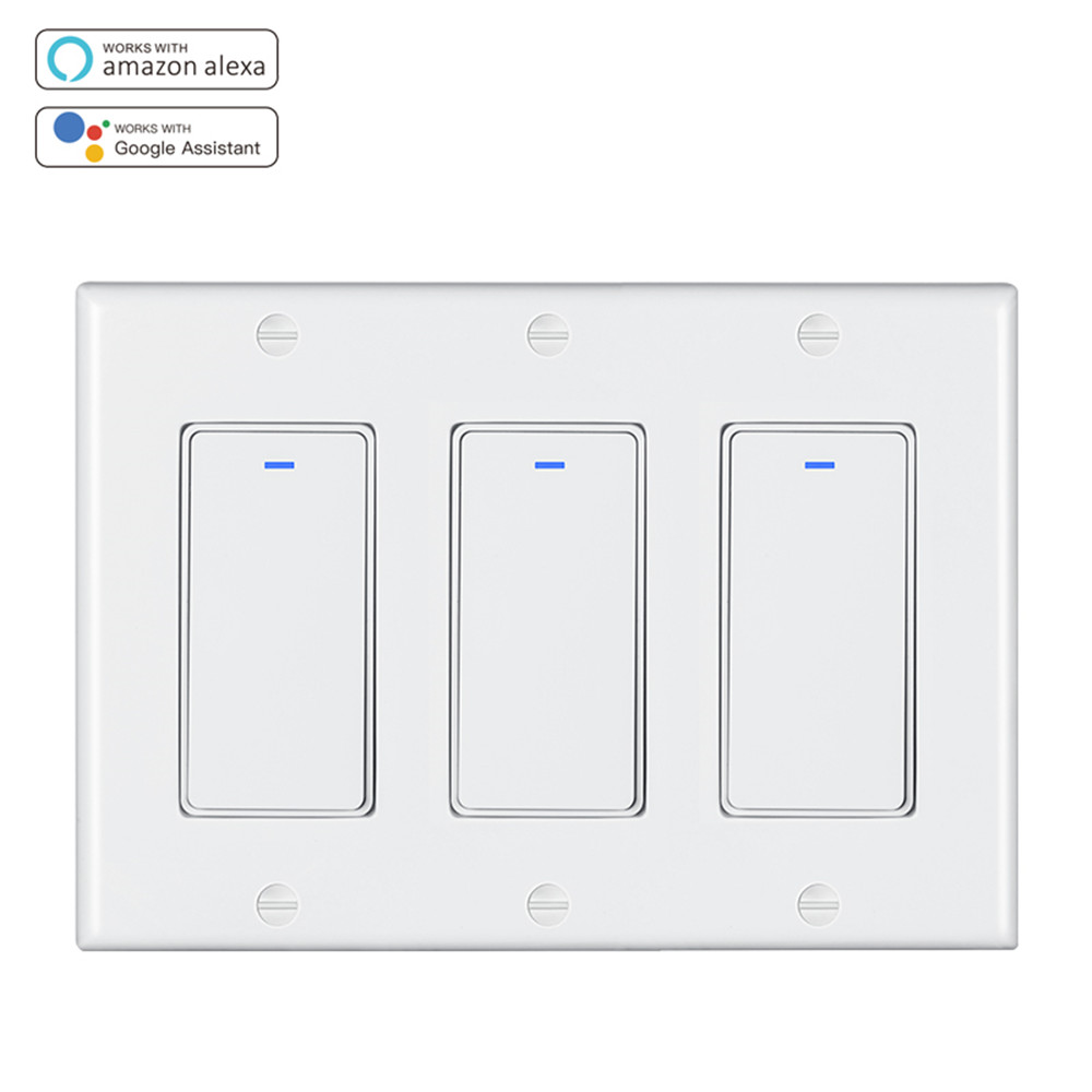 MD-122T 3gang US Standard WIFI Switch
