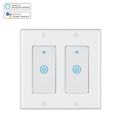 MD-123-1S 2gang US Standard WIFI Touch Switch