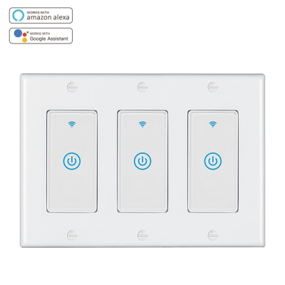 MD-123-1T 3gang US Standard WIFI Touch Switch
