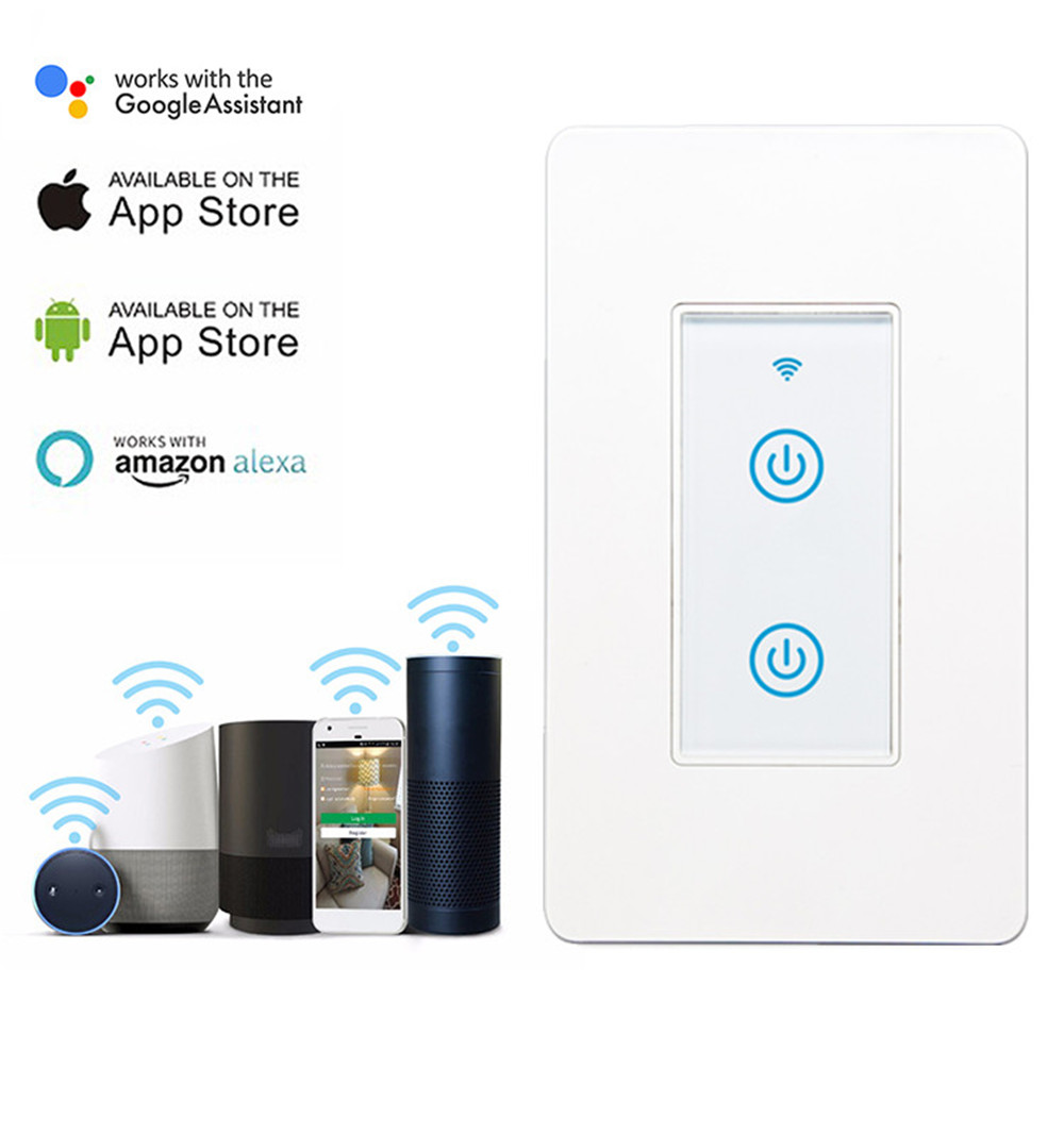 MD-123-2 1gang US Standard WIFI Touch Switch