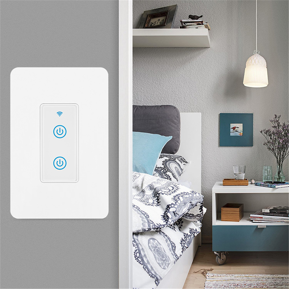 MD-123-2D 1gang US Standard WIFI Touch Switch
