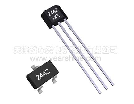 水流量传感器中常用的霍尔元件YS1442