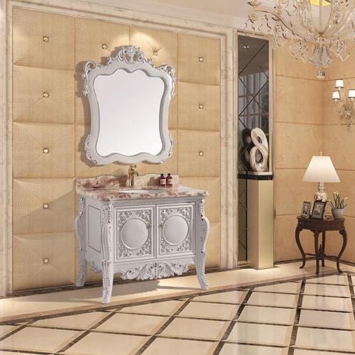 豪华欧式浴室柜-DL-N116