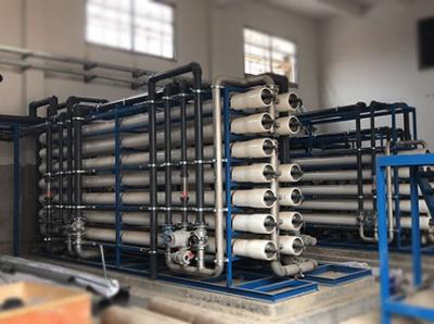 福建三宝特钢50吨双级反渗透设备