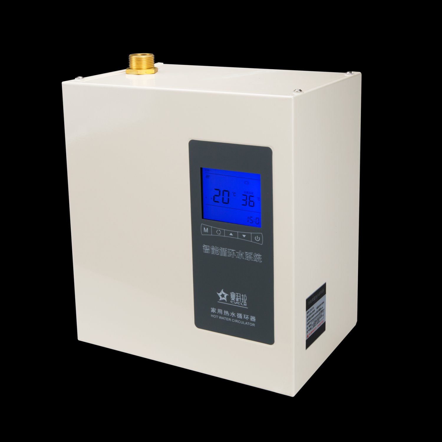 Model 91 multi layer / large space intelligent central hot-water circulator