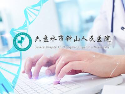 钟山人民医院网站建设案例欣赏