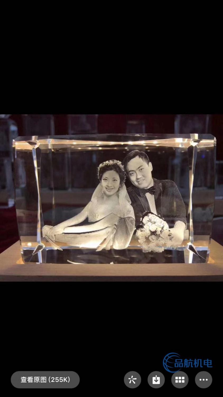 绿光激光打标玻璃水晶3D内雕机
