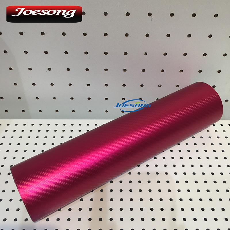 Matt Chrome Carbon Fiber Pink