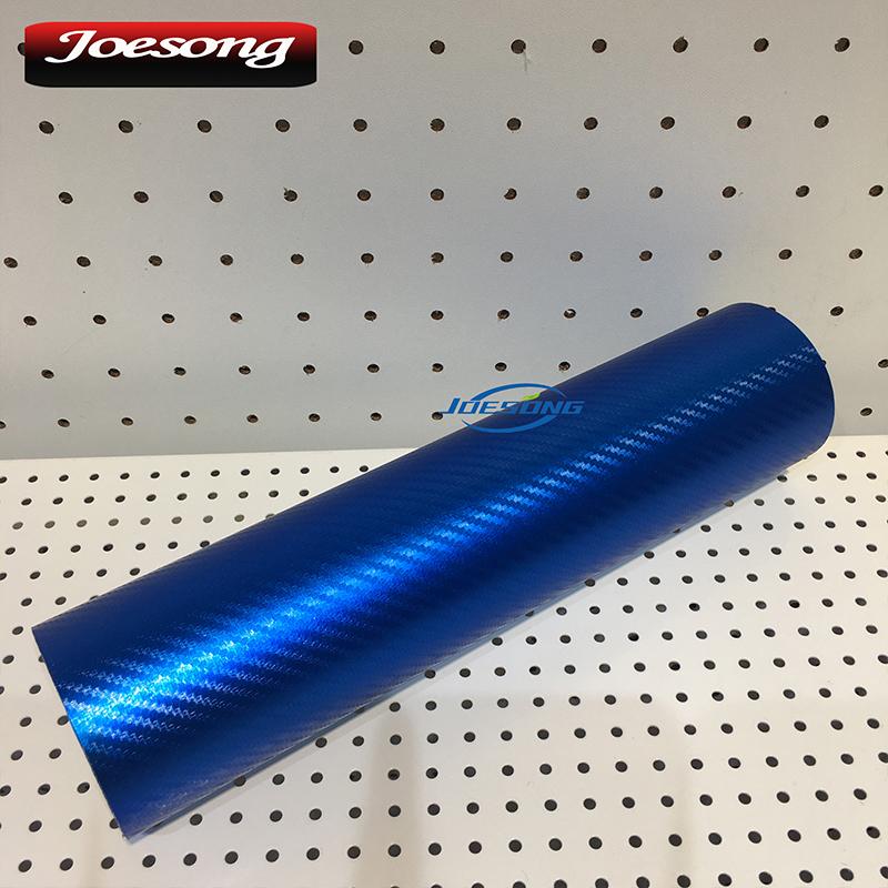 Matt Chrome Carbon Fiber Blue