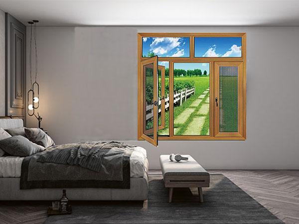 100A系列连体玻璃网窗