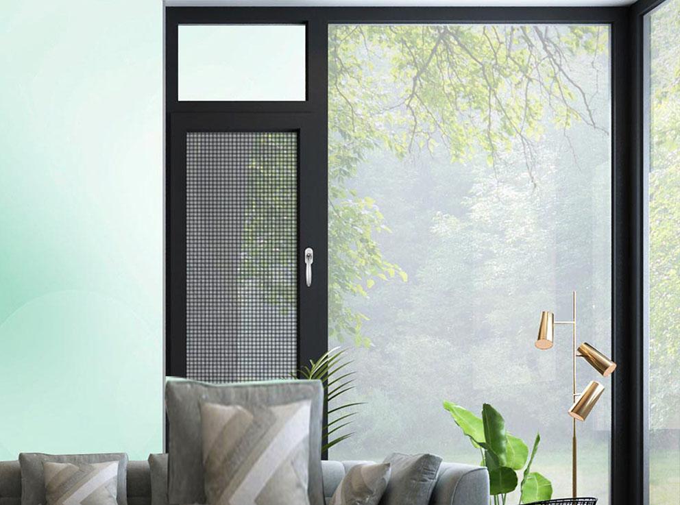 150A系列窗纱一体断桥平开门窗