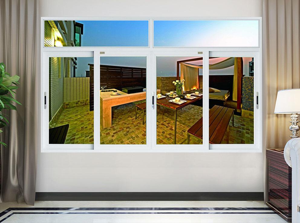 74系列单体四扇扇推拉网窗