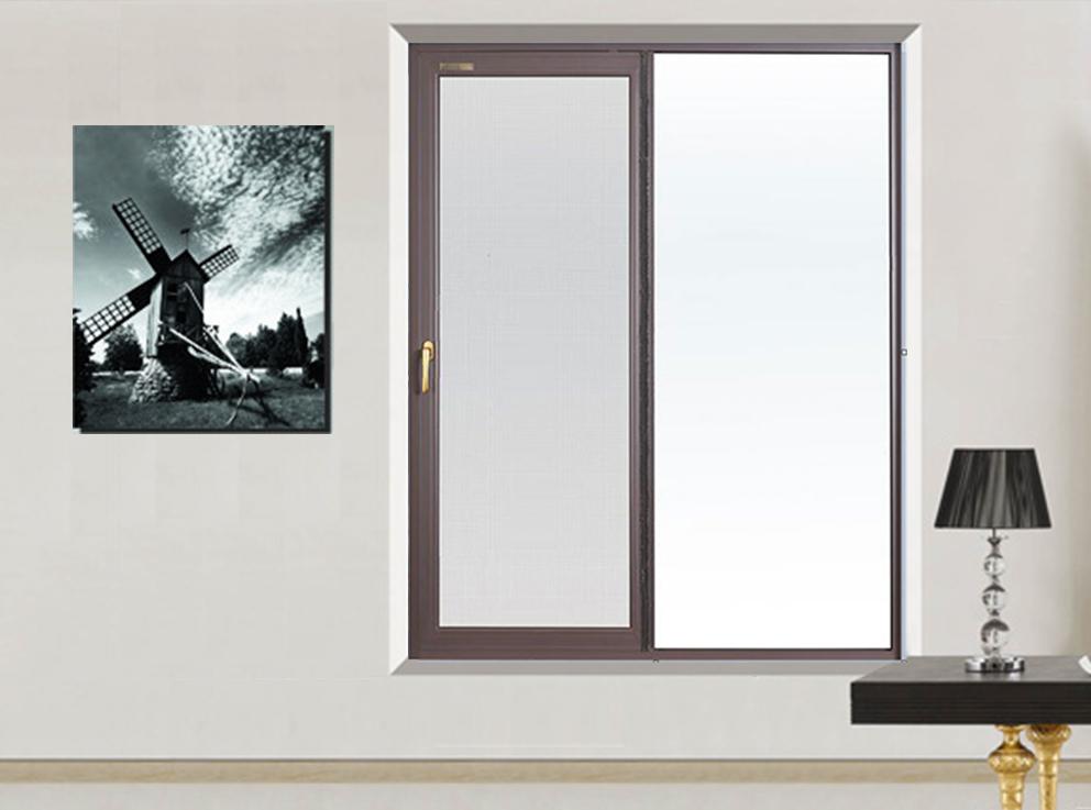 42A系列单轨推拉网门窗
