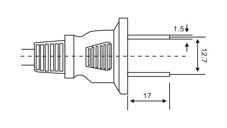 美国/加拿大标准插头QL-102