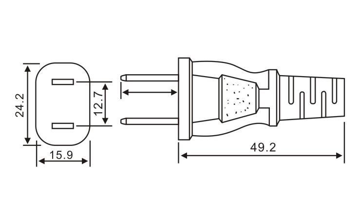 日本标准插头QL-362