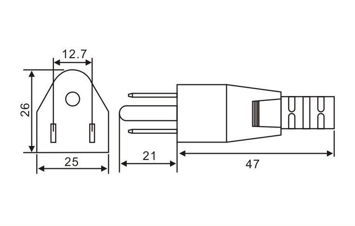 日本标准插头QL-363