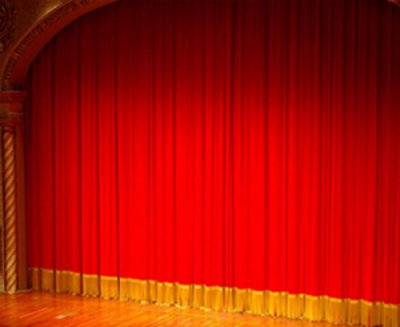 金丝绒舞台演出幕布