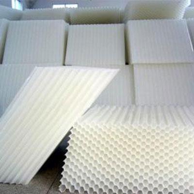 六角蜂窩斜管填料