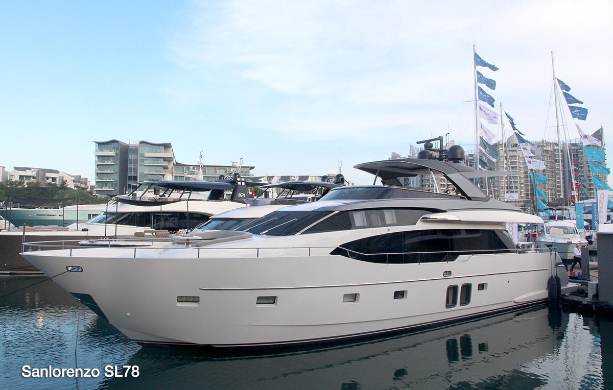 2018新加坡游艇展完美结束,辛普森游艇现场售出2艘游艇