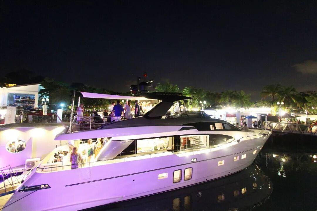 2018新加坡游艇展,圣劳伦佐亚洲首个船...