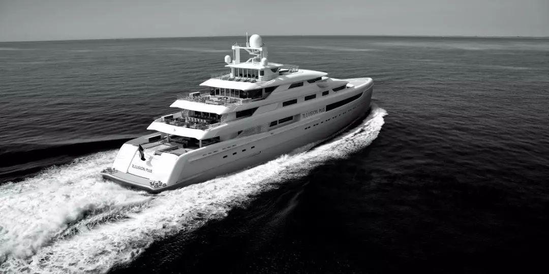 超级游艇 完美的现代设计,奢华却不失舒适...