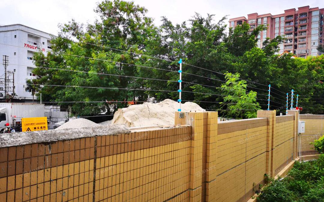 广州艾礼富脉冲电子围栏——在某烟...