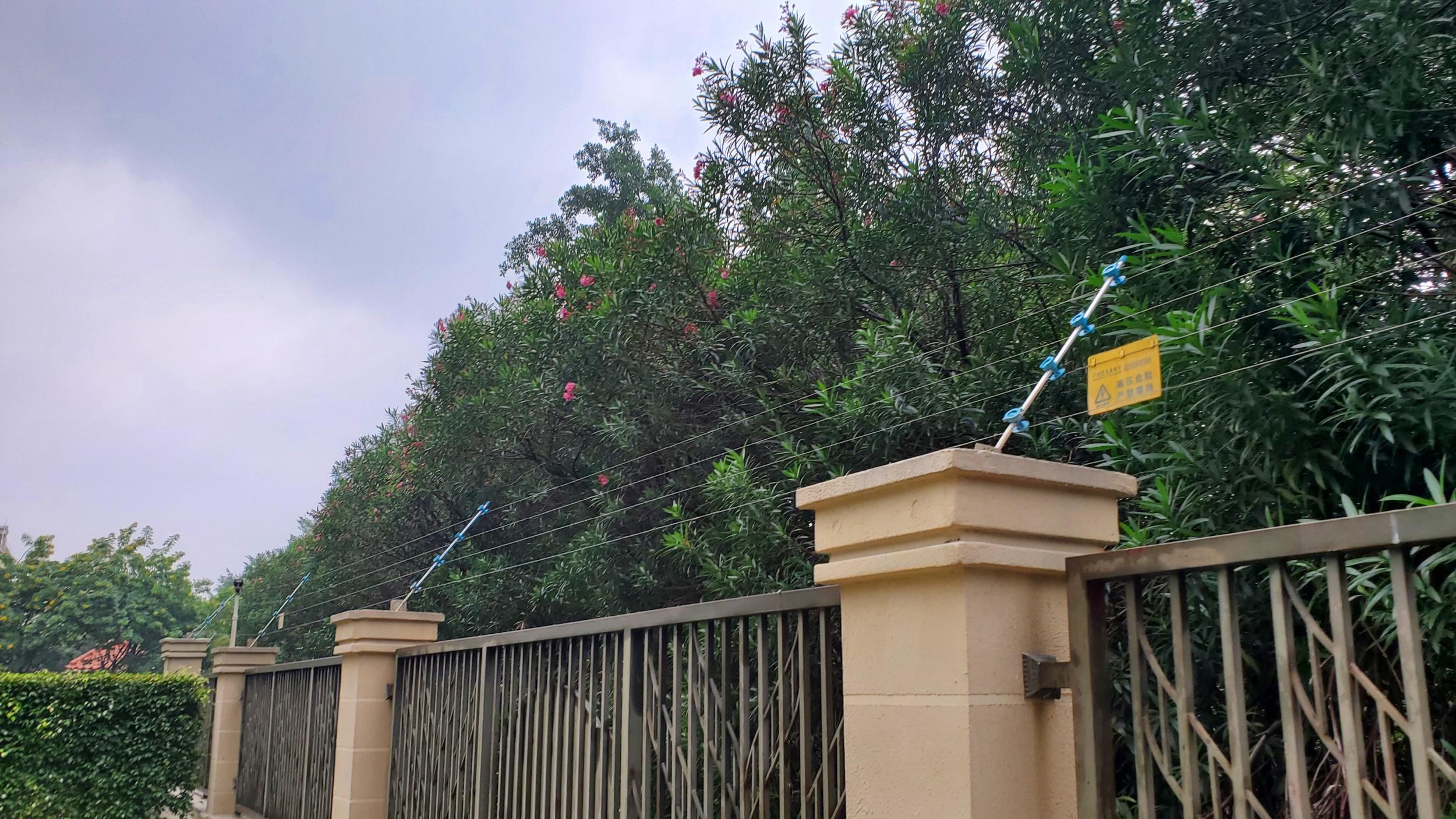 广州艾礼富电子脉冲电子围栏——在...