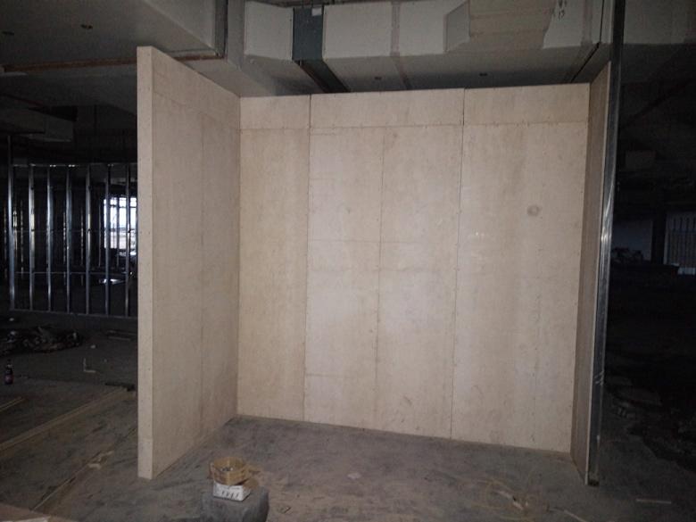 青岛胶州展厅隔墙样板项目