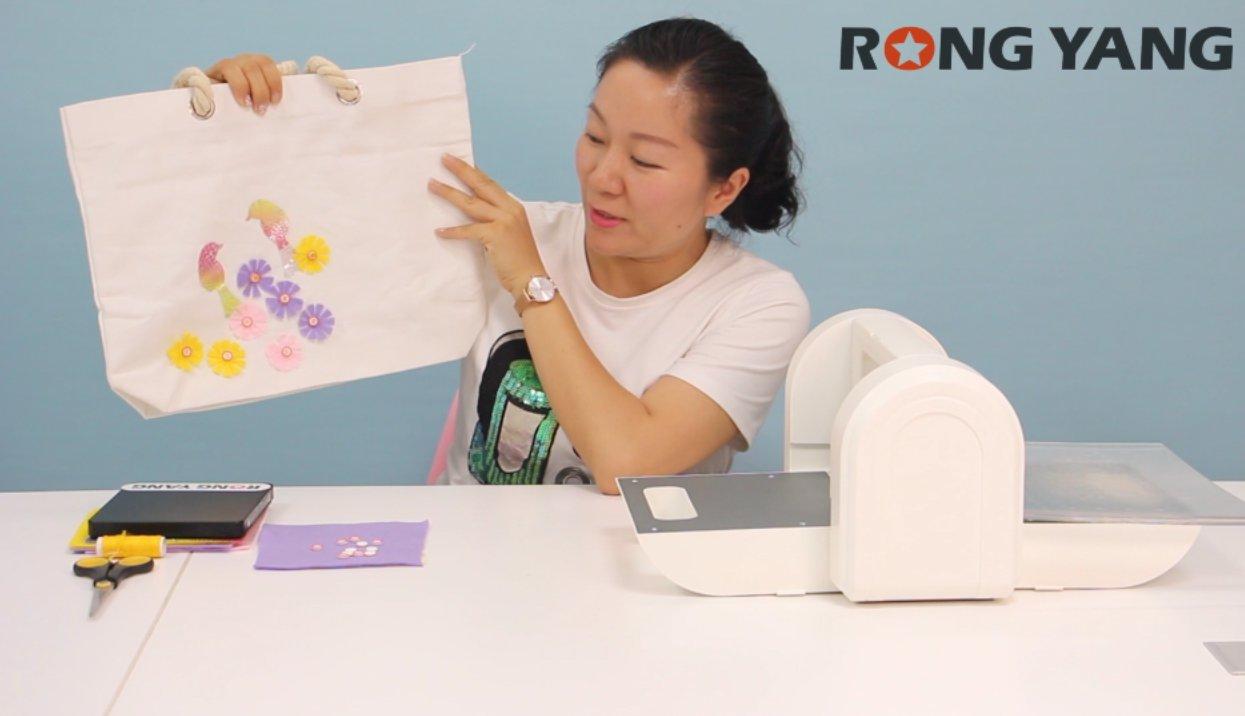 创意美术作品-挂包制作教程
