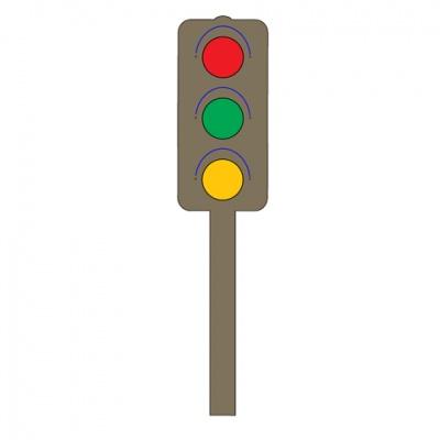厚模板(小)-红绿灯 RY-HS-BS0004
