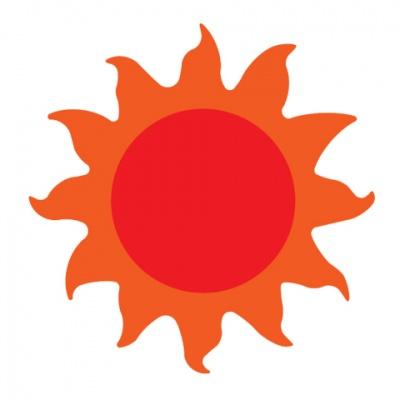 厚模板(小)-太阳  RY-HS-QX0003