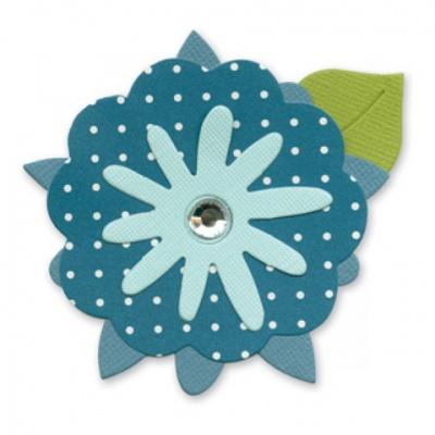 厚模板(小)-花朵2  RY-HS-ZW0003