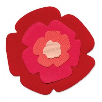 厚模板(小)-花朵3  RY-HS-ZW0004