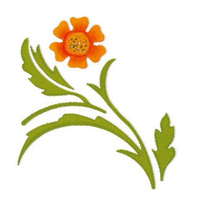 厚模板(小)-花朵6  RY-HS-ZW0010