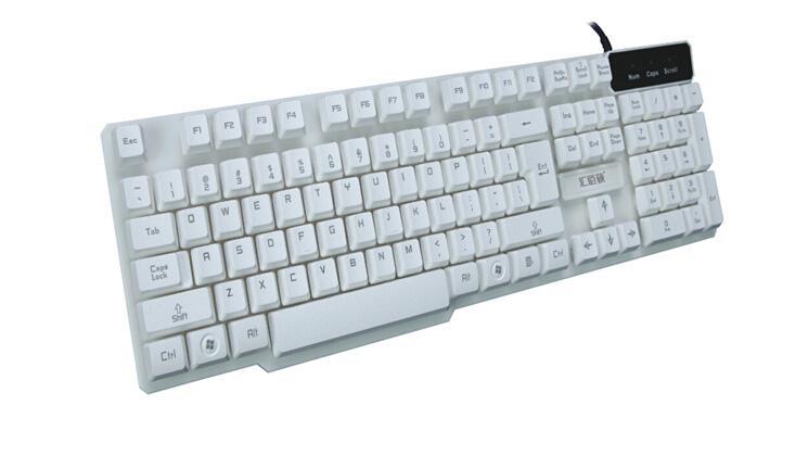 K3500白色单键盘