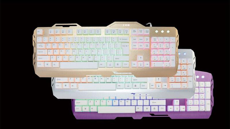 K3700金属面板键盘