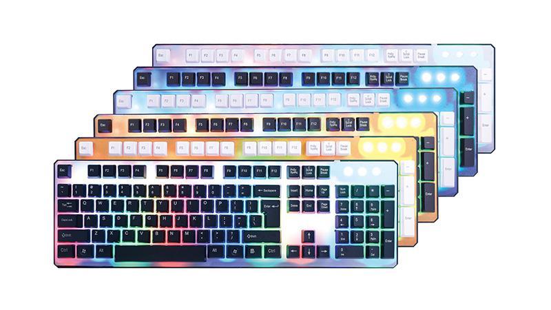 K3800水晶键盘