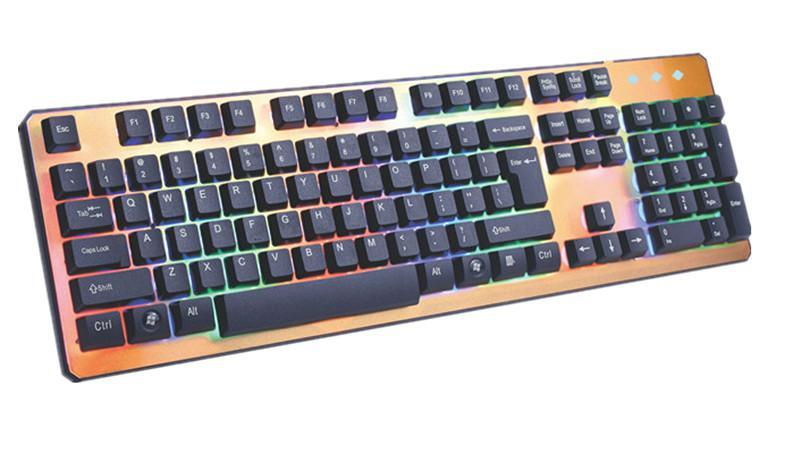 K3800土豪金单键盘