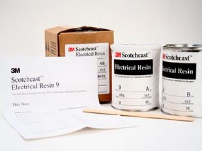 3M 9#树脂Scotchcast Electrical Resin(用于电力系统或电动器材 双组分电子部件固化系统)