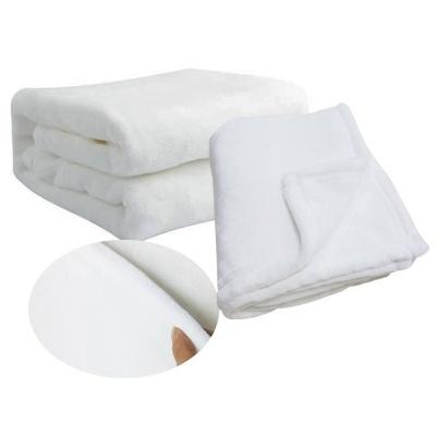 Sublimation Blank fleece baby blanket